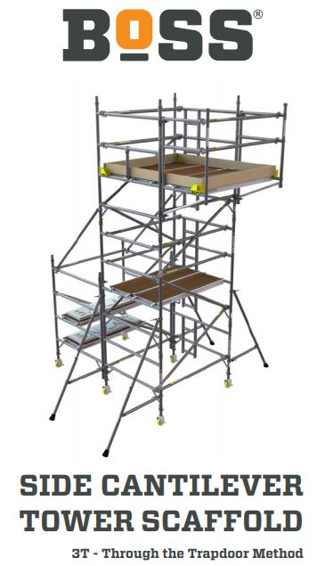SIDE CANTILEVER TOWER SCAFFOLD user guide