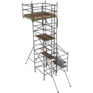 Boss Side Cantilever tower 1450 x 1.8 x 4.7m platform height +850 x 1.8m Cantilever
