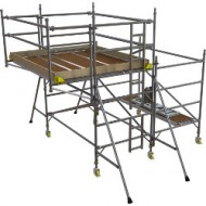 Boss Side Cantilever tower 1450 x 1.8 x 1.2 m platform height+ 850 x1.8 Cantilever