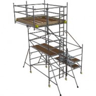 Boss Side Cantilever tower 1450 x 1.8 x 2.7m platform height +850 x 1.8m Cantilever